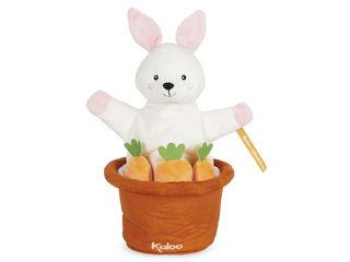 Immagine di Kaloo peluche marionetta Kachoo Robin il coniglio - Peluches