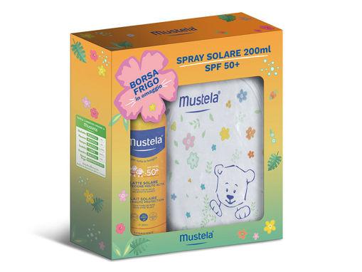 Immagine di Mustela spray solare 200 ml + borsa frigo