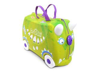 Immagine di Trunki valigia cavalcabile Rex dinosauro - Zainetti e valigie