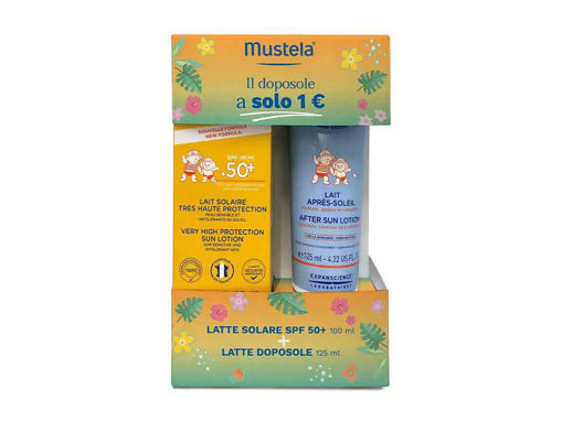 Immagine di Mustela bipack latte solare 100 ml + doposole 125 ml - Creme solari
