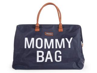Immagine di Childhome borsa fasciatoio Mommy Bag blu - Borse e organizer