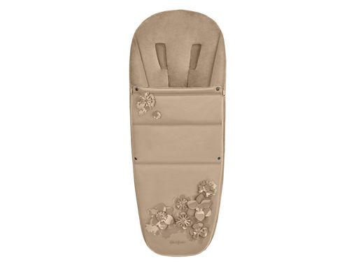 Immagine di Cybex Platinum sacco coprigambe Simply Flowers beige - Coprigambe e sacchi