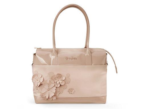 Immagine di Cybex Platinum borsa cambio Simply Flowers beige - Borse e organizer