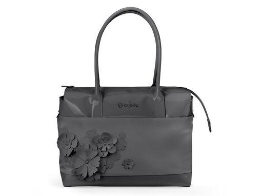 Immagine di Cybex Platinum borsa cambio Simply Flowers grey - Borse e organizer