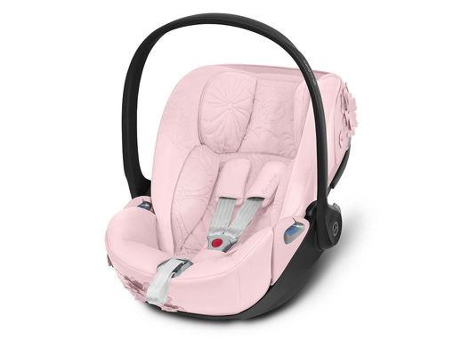 Immagine di Cybex Platinum seggiolino Cloud Z i-Size Simply Flowers pink - Seggiolini 0-15 mesi