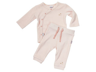Immagine di Dili Best pantaloni ciniglia + maglia manica lunga rosa tg 6-12 mesi - T-Shirt e Top