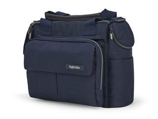 Immagine di Inglesina borsa Dual Bag per passeggino Electa soho blue - Borse e organizer