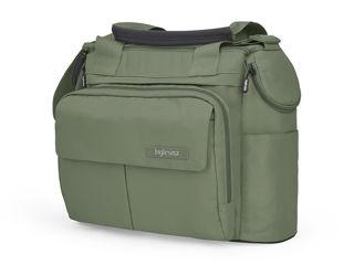 Immagine di Inglesina borsa Dual Bag per passeggino Electa tribeca green - Borse e organizer