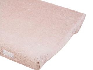 Immagine di Dili Best cover in spugna bamboo per fasciatoio in PVC rosa talco - Materassini