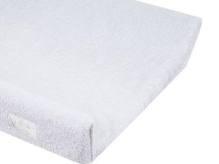 Immagine di Dili Best cover in spugna bamboo per fasciatoio in PVC bianco - Materassini