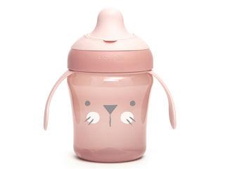 Immagine di Suavinex tazza antigoccia Hygge 200 ml rosa - Tazze e bicchieri