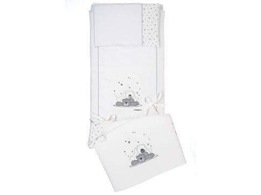 Immagine di Foppapedretti completo piumone Dolcestella bianco - Corredino nanna