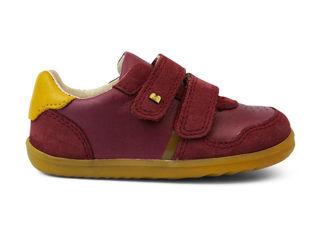 Immagine di Bobux scarpa Step Up Riley boysenberry + chartreuse tg 22 - Scarpine neonato