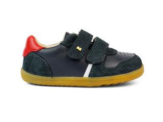 Immagine di Bobux scarpa Step Up Riley navy + red tg 19 - Scarpine neonato