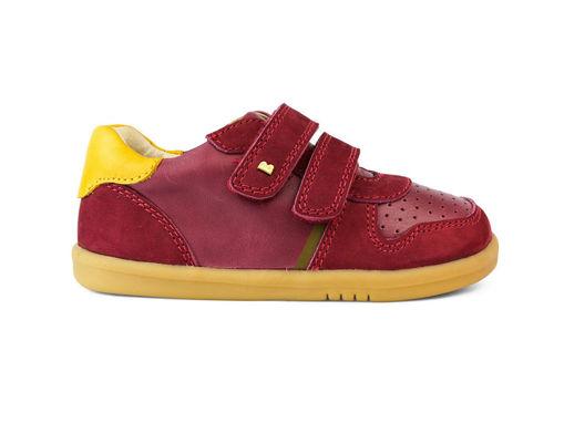 Immagine di Bobux scarpa I Walk Riley boysenberry + chartreuse tg 23 art 638102 - Scarpine neonato