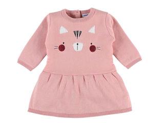 Immagine di Noukie's abito in maglia rosa tg 3 mesi - Vestiti