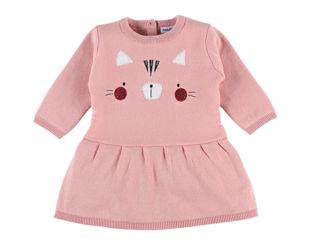 Immagine di Noukie's abito in maglia rosa tg 12 mesi - Vestiti