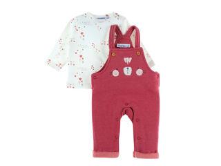 Immagine di Noukie's completo salopette rosa tg 12 mesi - Vestiti