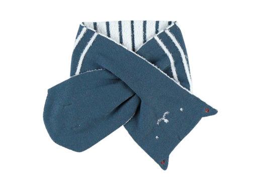 Immagine di Noukie's sciarpa lavorata a maglia verde scuro - Cappelli e guanti
