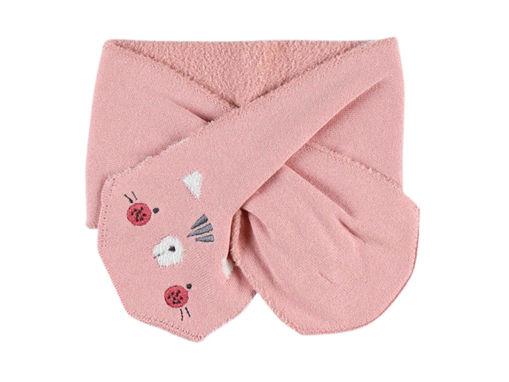 Immagine di Noukie's sciarpa lavorata a maglia rosa - Cappelli e guanti