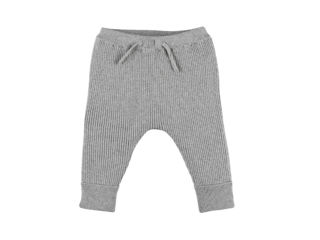 Immagine di Noukie's leggings in maglia organica M&M grigio tg 3 mesi - Pantaloni