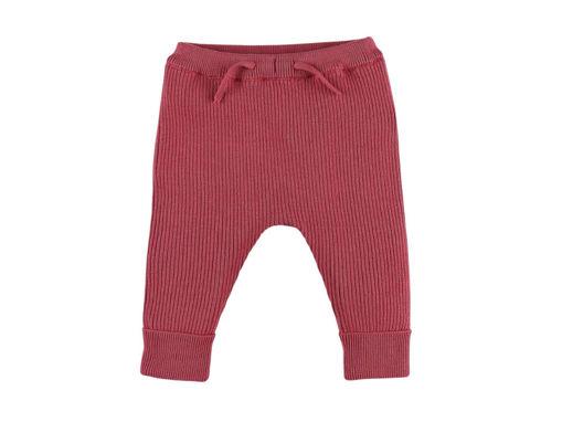 Immagine di Noukie's leggings in maglia organica M&M rosa tg 3 mesi - Pantaloni