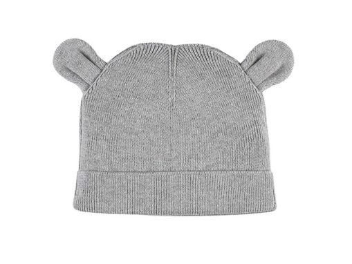 Immagine di Noukie's berretto M&M grigio in maglia organica T0 (43 cm) - Cappelli e guanti