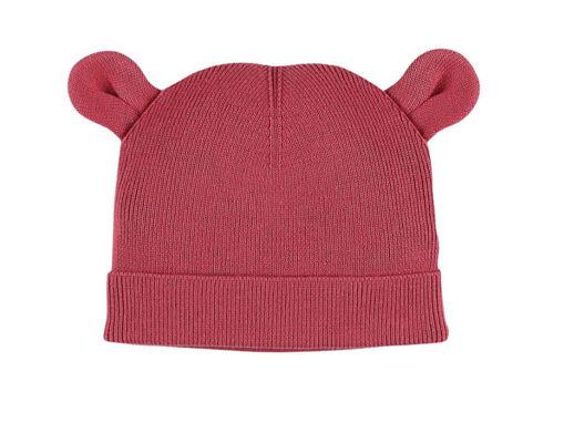 Immagine di Noukie's berretto M&M rosa in maglia organica T0 (43 cm) - Cappelli e guanti