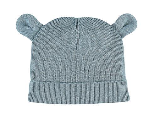 Immagine di Noukie's berretto M&M acqua in maglia organica T0 (43 cm) - Cappelli e guanti