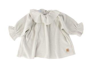 Immagine di Bamboom camicia volant Bluse grigio chiaro tg 1 mese - T-Shirt e Top