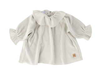 Immagine di Bamboom camicia volant Bluse grigio chiaro tg 18-24 mesi - T-Shirt e Top
