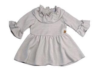 Immagine di Bamboom vestito volant bimba grigio chiaro tg 6 mesi - Vestiti