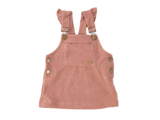 Immagine di Bamboom salopette bimba rosa antico tg 6 mesi - Tutine