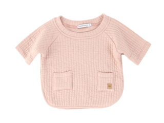 Immagine di Bamboom maglia poncho bimba rosa antico tg 6 mesi - T-Shirt e Top