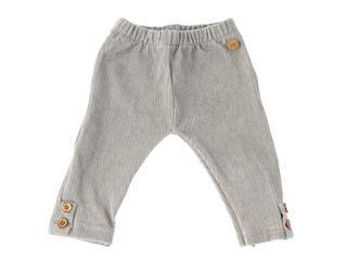 Immagine di Bamboom pantalone leggings Skinny velluto a costine grigio chiaro tg 9-12 mesi - Pantaloni