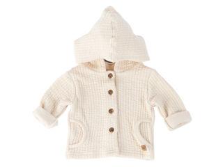 Immagine di Bamboom cardigan con cappuccio bimbo bianco panna tg 3 mesi - Giubbini