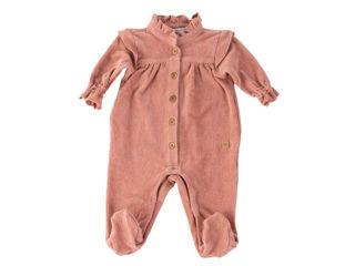 Immagine di Bamboom tutina velluto a costine bimba rosa antico scuro tg 6 mesi - Tutine