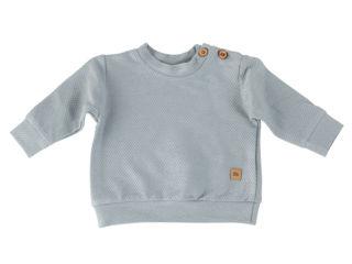 Immagine di Bamboom maglione giro collo bimbo blu jeans tg 3 mesi - T-Shirt e Top
