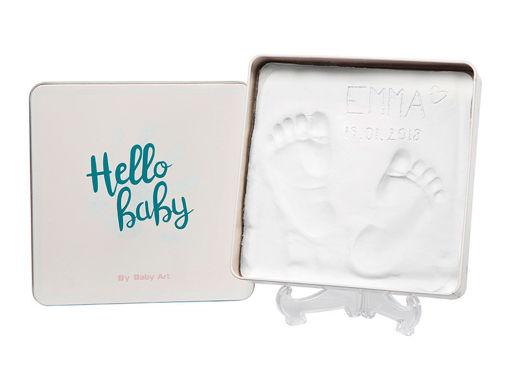 Immagine di Baby Art magic box round square Hello Baby - Idee regalo