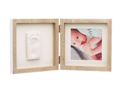 Immagine di Baby Art square frame collezione Wooden - Idee regalo