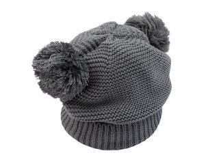 Immagine di Bamboom cappellino fatto a maglia grigio tg S - Cappelli e guanti