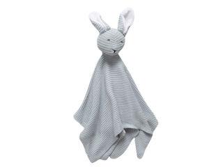 Immagine di Bamboom doudou Coniglietto lavorato a maglia azzurro - Educativi