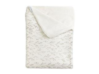 Immagine di Bamboom coperta culla Jersey Print in bambù organico + spugna peluche 100 x 75 cm primavera - Corredino nanna