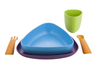 Immagine di eKoala set pappa eKeat multicolore Ver 2 - Piatti e posate