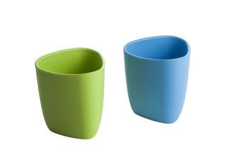Immagine di eKoala set 2 bicchieri eKuà azzurro-verde - Tazze e bicchieri