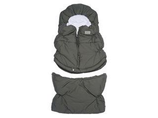 Immagine di Bamboom sacco invernale Igloo Combi TOG 4.5 taglia doppia middle grey - Coprigambe e sacchi