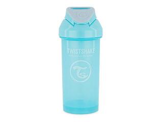 Immagine di Twistshake tazza con cannuccia 360 ml pastello azzurro - Tazze e bicchieri