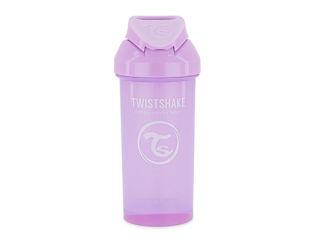 Immagine di Twistshake tazza con cannuccia 360 ml pastello viola - Tazze e bicchieri