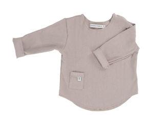 Immagine di Bamboom maglia manica lunga Pure sabbia tg 1 mese - T-Shirt e Top