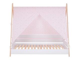 Immagine di Picci copertura per letto Scout rosa fantasia - Complementi d'arredo